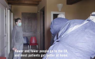 Deze Italiaanse dokter 'is flattening the curve' door COVID-19 patiënten thuis met HCQ te behandelen.