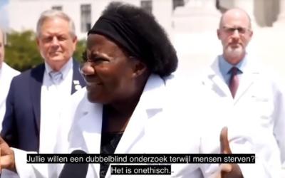 Dokter Stella Immanuel genas al haar 350 patiënten met het Zelenko protocol